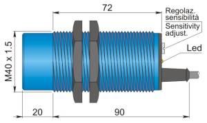 Cylindriska givare
